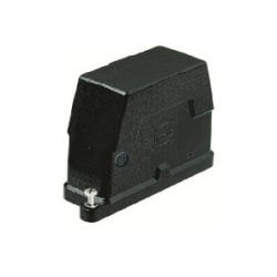 Han HPR Hoods: Han 6 HPR Hood Side Entry M25 Screw lock