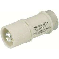 Han HC Insert mâle : Han 1 HC 350 a/4KV - male - 20-35 mm2
