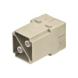 Han-Modular Modules: Han Modular 2 Module male 100A screw