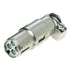 Han-Modular Contacts: Han 4 Quintax female zinc cable diameter