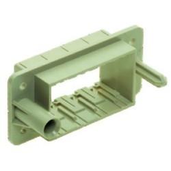 Han-Modular Plastic: Han 16Mod docking frame for 4 modules