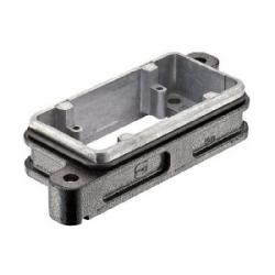 Han HPR Housings: Han 10 HPR Base Panel Screw locking