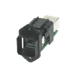 Han PushPull: Han PushPull RJ45 WDF patch cable