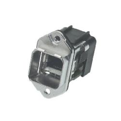 Han PushPull: Han PushPull RJ45 90 metal WDF