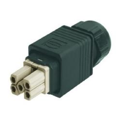 Han PushPull: Han PushPull Power 4/0 cable side crimp