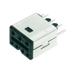 PushPull Hybrid: HPPHybrid receptacle straight 100 pcs