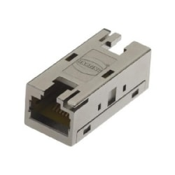 Data IP20 RJ45: RJ Industrial 10G IP20 Bulkhead Cat.6