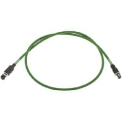 Data Cords M12: RJI cab IP20 / M12 4XAWG 22/7;trai.;2,5m