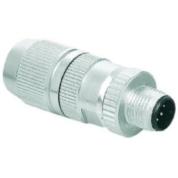 Harax circular connector M12 shielded, D-coded, 4 poles, 22-20 AWG