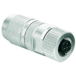 Harax Sensor Female: Circular Connector w. Harax M12 L 3 F
