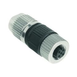 Harax Sensor Female: Circular Connector w. Harax M12 L 5 F