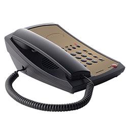 TeleMatrix 3100MW5 Ash, Single-Line, Corded, Non-Speakerphone With 5 Guest Service Keys