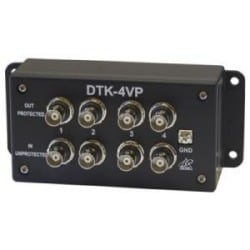 Four Channel BNC Video Surge Protection, 2.8V Clamp