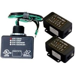 Fire Alarm Control Panel Protection Kit - Protects 120 V AC 15A power (parallel connection) and 2 RJ31X dialer circuits.