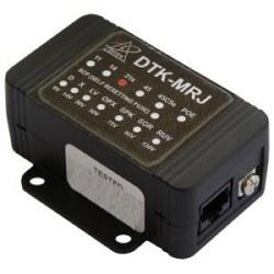 Control Panel Dialer parasurtenseur - RJ45 Mod Jack pour les circuits de RJ31X de numéroteur, avec cordon. 150 mA auto REARMABLE fusible