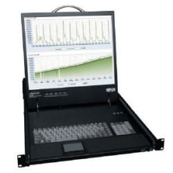 NetCommander 16-Port Cat5 1U Rack-Mount Console KVM Switch with 19-in. LCD