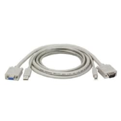 USB Cable Kit for KVM Switch B006-VU4-R, 6-ft.