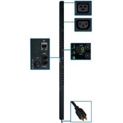 PDU commuté à 3 phases 5,7 kW, prises de 208 V (21 C13 et 3-C19), L15-20P, cordon de 3 pi, {[#12]}U vertical