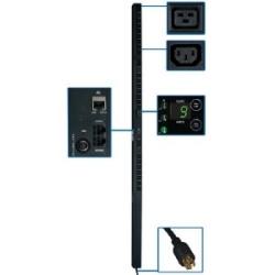 PDU commuté à 3 phases 5,7 kW, prises de 208 V (21 C13 et 3-C19), L21-20P, cordon de 3 pi, {[#12]}U vertical
