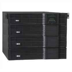 SmartOnline 208/240 & 120V 12kVA 8.4kW Double-Conversion UPS, 8U, Extended Run, Network Card Slot, USB, DB9, Bypass, NEMA