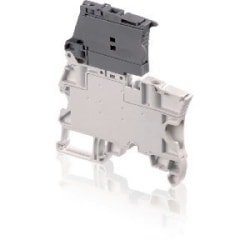 ZS4-SF Screw Clamp Terminal Block - for Fuses 5x20mm - Grey, 4mm Rated Cross Section, 6mm Spacing, TH 35-7.5, TH 35-15 Rail