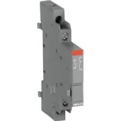 1 NO & 1 NC Auxiliary contact blocks, side mount