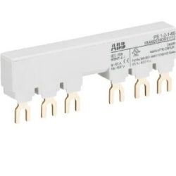 PS1-2-1-65 3-phase busbar for 2 MS116 / MS132 with 1 HK/SK, Ie=65A