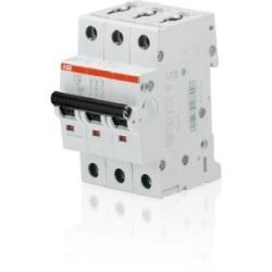 S 200 U miniature circuit breaker, 3 poles, 480Y/277 V AC, tripping characteristic K, 63 AMP
