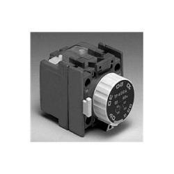 Temporisateur pneumatique, hors délai 0,1-40 s, 1 contacts NO/1 NC, pour contacteurs A/AF/AL/AE