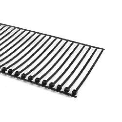 Cable Tie AT2000, Heat Stabilized, 18 lb, 5000 Ties/Reel, Black, 4 Reels/Ctn
