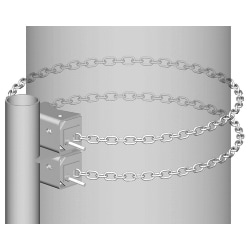 Heavy Duty Chain Mount Base Kit, 16 ft chain