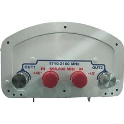 DualPol Antenna, 698-896 MHz, 65 horizontal beamwidth, fixed electrical tilt