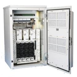 OneBase MCPA Cell Extender Mini Cabinet Multicarrier Power Amplifier System for Cellular and PCS Outdoor Applications