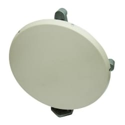 0.3 m | 1 ft ValuLine High Performance Low Profile Antenna, single-polarized, 71.000-86.000 GHz, custom flange, color, and radome