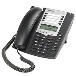 Entry Level IP Phone - Charcoal, AC Wall Adapter Included