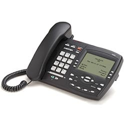 Full Featured IP Screen Phone - Charcoal