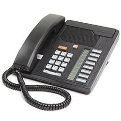 Digital Centrex Telephone - Black, Loop-powered