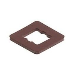 GDSN 307-4 NBR light brown; Flat Gasket for Cable Socket GDSN..., material: NBR, temperature range: -30C to +90C