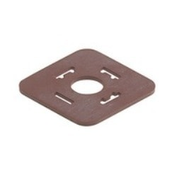 GDM 3-7 NBR light brown; Flat Gasket for Cable Socket GDM ..., material: NBR, temperature range: -30C to +90C