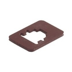 GMN 209-3 NBR light brown; Flat Gasket for Cable Socket GMN, for versions DIN EN 175 301-803-B, material: NBR, temperature range: -30 C to +90 C