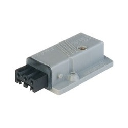 STAKAP 3 N grey; Surface mounted Socket, 3 contacts + PE, female, 16A 400V AC, 10A 250V DC