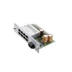 M1-8TP-RJ45 PoE; 8 x 10/100BaseTX PoE+ RJ45 port media module for modular, managed, Industrial Workgroup Switch MACH102
