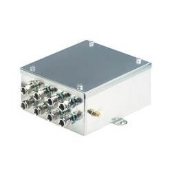 OZD Profi G12DE ATEX 1; Interface converter electrical/optical for PROFIBUS networks repeater function in stainless steel cabinet approvals for protection zones 1,21, 2 and 22; 2 x optical: 4 sockets BFOC 2.5 (STR); 1 x electrical: Ex-e single clamp