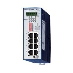 RS2-TX; Unmanaged industrielle Ethernet Rail Switch, magasin et avant commutation de mode, Ethernet (10 Mbit/s) et Fast Ethernet (100 Mbit/s); 8 x 10/100-TX, câble TP, douilles RJ45, auto-croisement, auto-négociation, auto-polarité