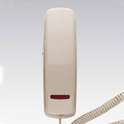 SCITEC 205 t Trimline téléphone, Ash, une seule ligne, à cordon avec Message en attente de lumière