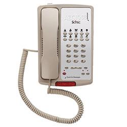 Scitec Aegis-10S-08 Ash, Single-Line, Corded, Speakerphone