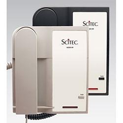 Scitec Aegis-LB-09 Black, Single-Line Lobby Phone, Corded, Non-Speakerphone