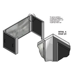CRAC Extension (4 ft max height per extension)
