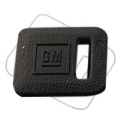 General Motor Key Cover, Secondary, Black, 50 each per Pack