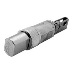 "Cylindrical Lockset Deadlatch, Drive-In, 2-3/4"" Backset, Satin Chromium Plated, For D and E Series Deadbolt"